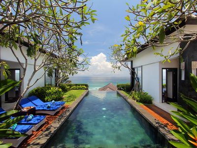 Photo for 4 Bedroom Amazing Indian Ocean View Villa in Nusa Dua