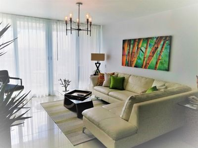 Photo for GORGEOUS 2BD/2 BATH ON THE BEACH! DESIGNER APT.LUX! BEST LOCATION.