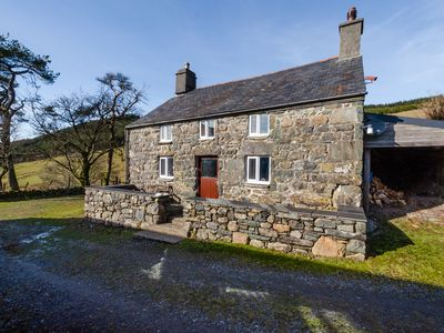 Photo for In a secluded location on a 700-acre sheep farm, this very attractive stone cottage is in a stunning
