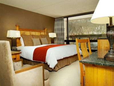 Photo for Cozy + Bright Lodge Room | Full-Service Spa just downstairs!