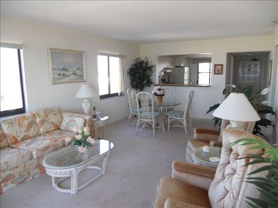 Photo for Beautiful 2 Bedroom End Unit Beach Front Condo - Affordable!