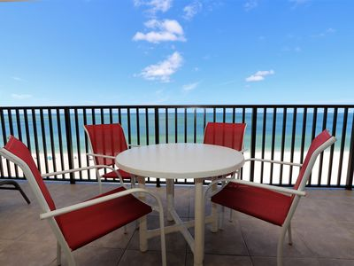 Photo for Beach Front 2/2 With Gorgeous Views of Gulf of Mexico