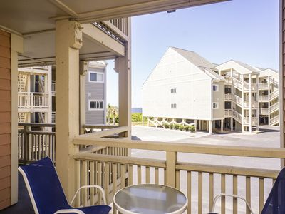 Photo for Seas The Day: 3 BR / 2 BA condo in Caswell Beach, Sleeps 6