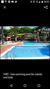 Photo for Duplex apartment.  Pool Beach, tennis, for big family 9 pax, for big fammily