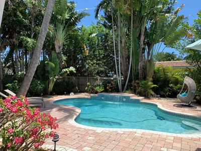 Photo for Gorgeous Fort Lauderdale Cottage with Heated Salt Water Pool & Hot Tub