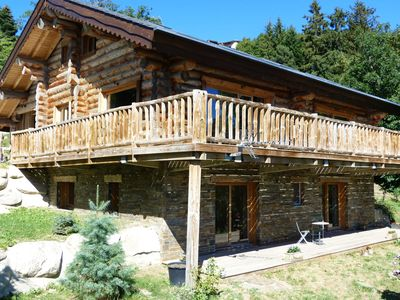Photo for Chalet Fidelio, luxury accommodation with sauna in the heart of Font Romeu
