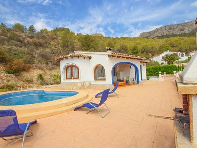 Photo for Villa with sea views and private pool. CUC7