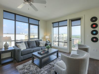 Photo for Luxurious Top Floor 2 bed 2 bath Downtown Condo-Corner Unit #604