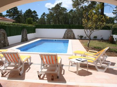 Photo for 26149/AL Lovely 4 bed 3 bath villa with large pool, 250 meters from the beach