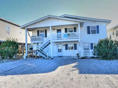 """Photo for """"White Eagle""""Oceanfront Home 2 kitchens, 2 separate living spaces & 2 private entrances provide plenty of room for up to 12 guests!"""