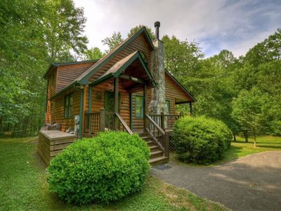 Photo for 2BR Cabin Vacation Rental in Mineral Bluff, Georgia