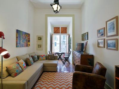 Photo for Rossio's Flat apartment in Baixa/Chiado with WiFi.