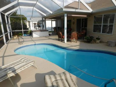 Photo for Beautiful Private Pool Home w/Hot Tub golf cart included close to Spanish Spring