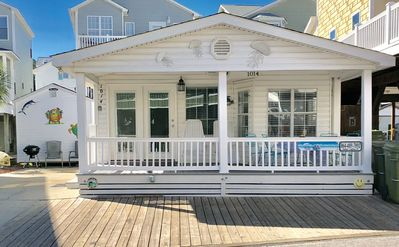 Photo for OCEAN VIEW!! Just steps to the beach!  *GOLF CART INCLUDED WITH RESTRICTIONS