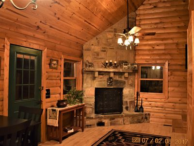 Beautiful Cabin In The Middle Of The Ouachita Mountains Close To ATV Trails!