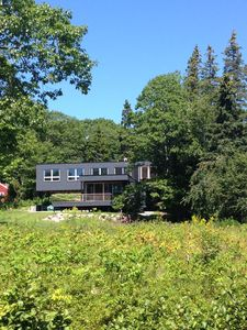 Photo for Sorrento, Maine, Modernist House, Relaxing Views Of Frenchman Bay
