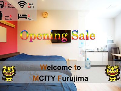Photo for Furushima 102 ★ OpenSale ★ Mcity Furujima # 102 ★ Furushima Station 1 minute walk ★ wifi ★ Naha city ★ permission Yes
