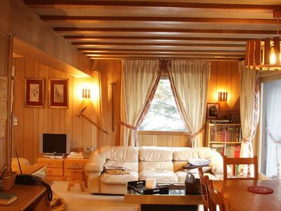 Photo for Chalet Mousseron - Traditional Alpine chalet with rustic charm