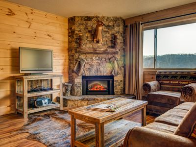 Remodeled to look like a Mountain Lodge!
