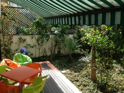 Photo for Charming 90m2 apartment w/ 40m2 private garden in the center of Lisbon