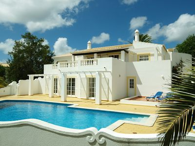 Photo for Luxury 4/5 Bed Villa with Private Pool, Sea, Golf  and Lake Views