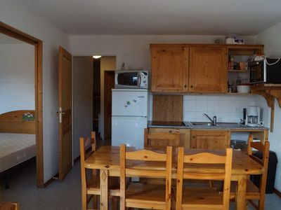Photo for Family apartment sleeps 8, mountain view Domaine des Sybelles