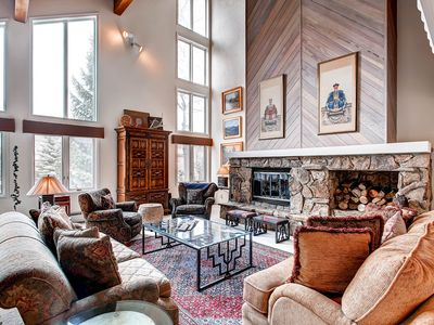 Photo for Mountain Home With Ski Access & Garage
