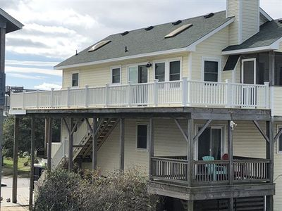 Photo for ONLY 450 feet to beach! Ocean Vws! Private pool, HotTub, pets ok! Poolside tiki bar