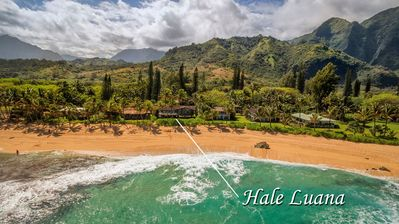 Photo for Beachfront Family Fun Home on one of the dreamiest beaches on Kauai! TVR 1016