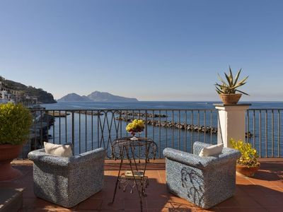 Photo for San Montano Apartment, Sleeps 5 with Air Con and WiFi