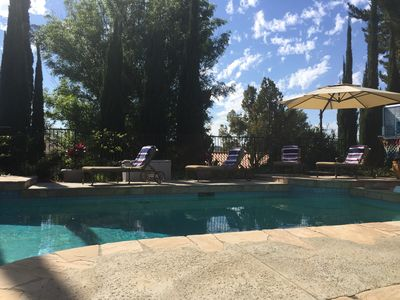 Photo for Calabasas Private Two-Bedroom Guest Suite with Stunning Pool
