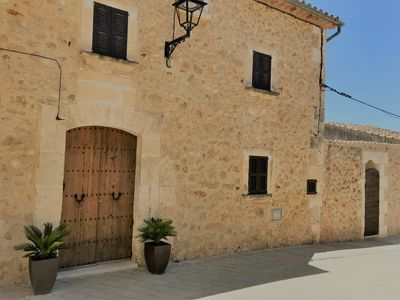 Photo for Beautiful traditional Mallorquin house, in hillside town, new private pool