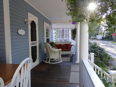 Photo for Authentic Chautauqua Institution Cottage, great location, 39 Foster, First floor