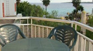 Photo for Great 3 bedroom apartment  ideal place to be 50 mtrs from beach & sea  & Wi Fi