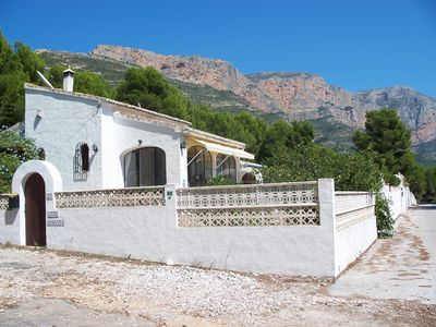 Photo for Villa In Montgo National Park With Private Pool, Fruit Trees And Mountain Views