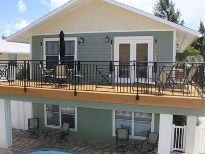 Photo for Stunning Bay View and steps away from the beach