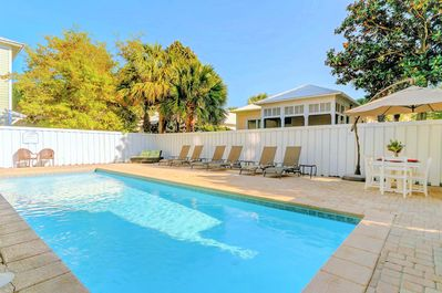 Calypso features a Large Private Pool Area