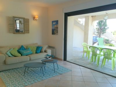 Photo for Perfect for a family break at only 300m away from the most beautiful beach in Corsica