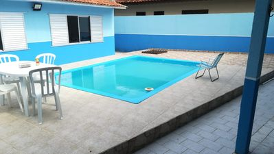 Photo for House with pool 100 meters from the beach.