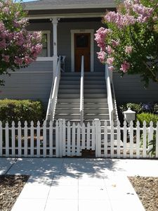 Photo for The Corner Cottage ~ Downtown out your door with Private Vineyard