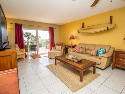 Photo for 3 bedroom, 2 bathroom condo that sleeps 8 people. Great views from the balcony!
