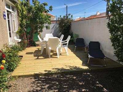 Photo for ACCOMMODATION AT THE CENTER OF BOURG AND THE BEACH