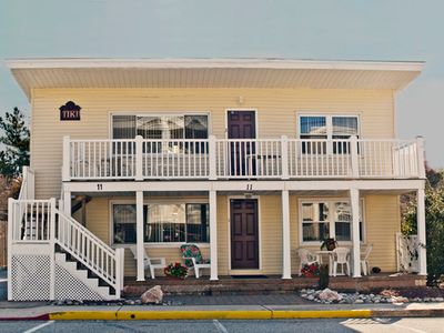 Photo for Family owned and operated,1st floor fully equipped, fifty yards to beach and bus