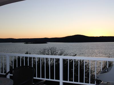 Photo for You will love the amazing view at our 2 bedroom 2 bath lakefront condo