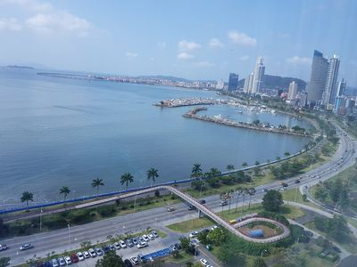 Photo for Ocean View luxury apartment in famous Bayfront Tower