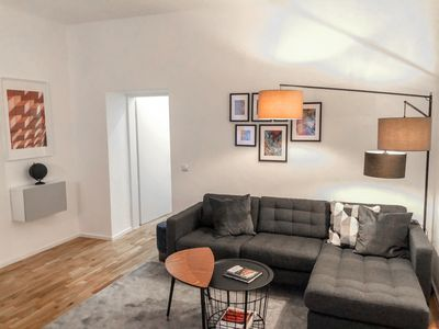 Photo for Brand new apartment - perfect location for sightseeing and shopping - very quiet