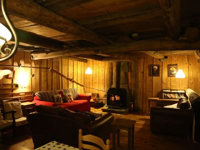 Photo for Chalet Ecosse - A large, traditional chalet near Les Arcs, Bourg St Maurice