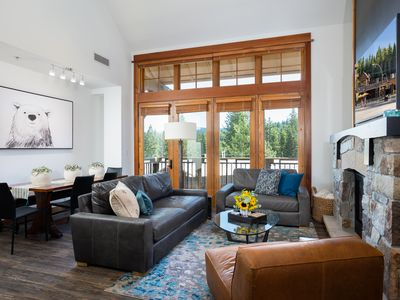 Photo for Luxury Top Floor Residence in the Village at Northstar -  Catamount 403