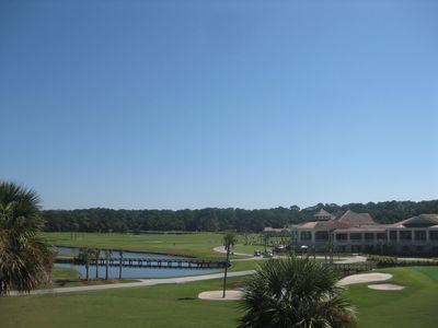 Photo for ONE OF BEST GOLF VIEWS ON THE ISLAND - 2BR/2bath-