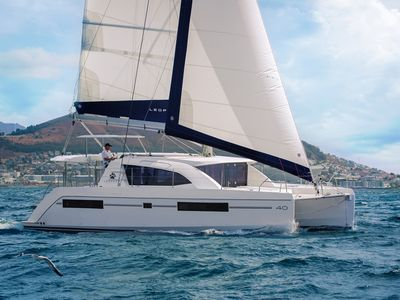 Photo for Spacious Catamaran docked in Hyères les Palmiers for 2 to 4 people